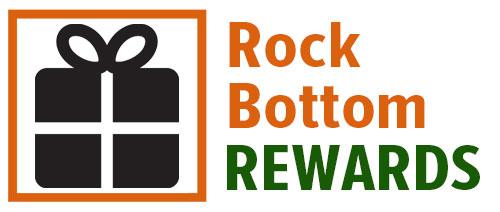 Rock Bottom Rewards Program