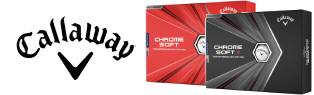 Purchase 3 Dozen Personalized Callaway Chrome Soft Golf Balls, Get 1 Dozen FREE!