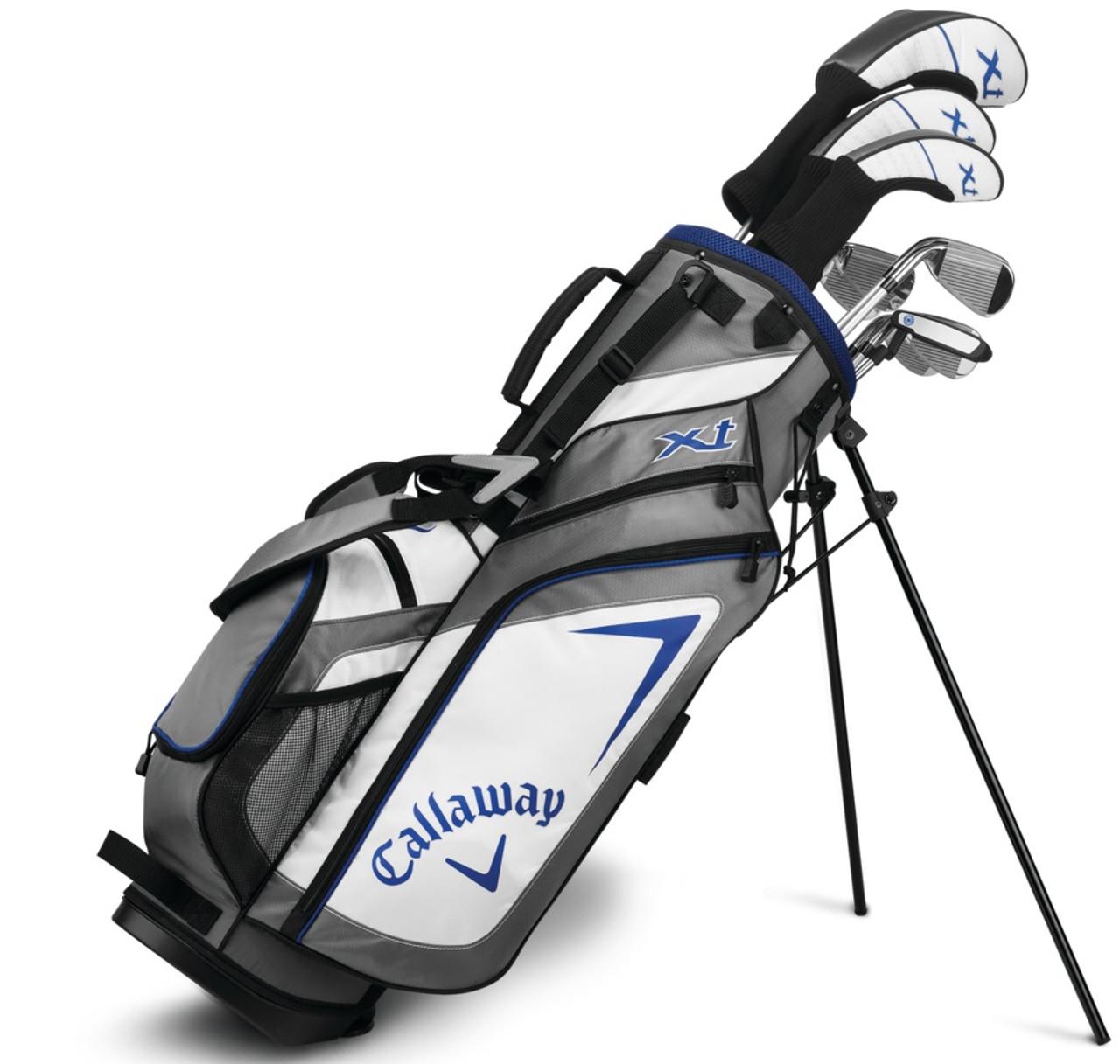 Callaway Golf Xt Junior Teen 10 Piece Set With Bag Rockbottomgolf Com