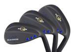 Ray Cook Golf Blue Goose Black 3-Wedge Set