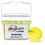 Bullet .444 Distance Matte Colored Golf Balls [96-Ball]