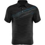 PGA Tour Golf- Big & Tall Textured Print Polo