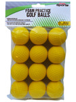 PrideSports Golf- Practice Foam Yellow Balls
