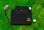 Rock Bottom Golf- Solid Polo