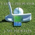Eye Putt Pro Golf- Putting Training Aid Mirror