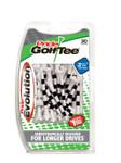 PrideSports Golf- Striped Evolution Tees (30 Pack)