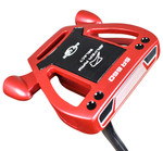 Ray Cook Golf- Silver Ray Select SR550 Red Putter