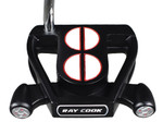 Ray Cook Golf- Silver Ray Select SR550 Black Putter *Open Box*
