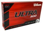 Wilson Ultra 500 Straight Golf Balls 15-Pack