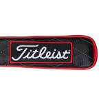 Titleist Golf- Jet Black Leather Alignment Stick Cover