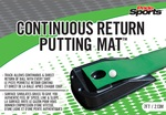 PrideSports Golf- Continuous Return Putting Mat