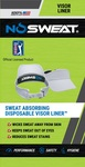 NoSweat PGA Tour Visor Liners (3-Pack)