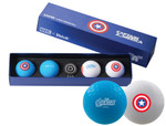 Volvik- Marvel Edition Golf Balls with Hat Clip Ball Marker