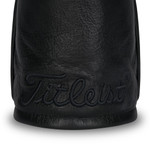 Titleist Golf- Black Out  Leather Driver Headcover