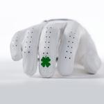 Bender Gloves- MLH Elite Cabretta Leather Glove White Lucky
