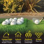GoSports Golf- Foam Flight Practice Balls (24 Pack)