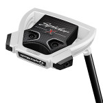 Pre-Owned TaylorMade Golf Spider X Chalk/White Small Slant W/SightLine Putter