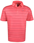 Callaway Golf- Printed Refined Stripe Polo