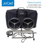 JuCad Golf Stainless Steel 3-Wheel Edition Push Cart