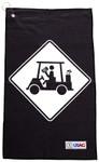 U Suck At Golf- Cart Hazzard Towel