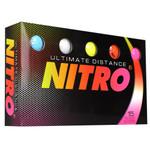 Nitro Ultimate Distance Golf Balls [15-Ball]