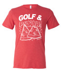 SwingJuice Golf and Pizza Short Sleeve T-Shirt