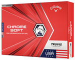 Callaway Chrome Soft USA Truvis Golf Balls