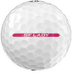 Srixon Ladies Soft Feel Golf Balls LOGO ONLY