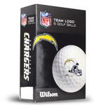 Wilson NFL Mascot Logo Ultra Golf Balls [6-Pack]