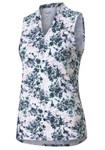 Puma Golf- Ladies Cloudspun Floral Tie Dye Polo