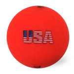 Volvik USA 2.0 Pack With Hat Clip Ball Marker (4-Pack)