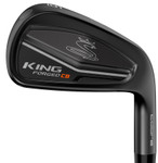 Pre-Owned Cobra Golf LH King Forged CB/MB Black Irons (8 Iron Set) Left Handed