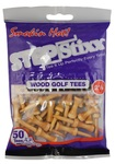 "PrideSports Golf- 2 1/8"" StepStixx Wood Tees (50 Pack"
