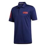 Adidas Golf 3-Stripes USA Polo