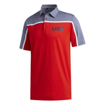 Adidas Golf- Ultimate365 Colorblock USA Polo