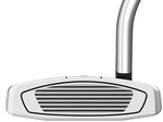 Pre-Owned TaylorMade Golf Spider EX Platinum/White Single Bend Putter