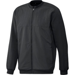 Adidas Golf Go-To Quilted Full Zip Jacket