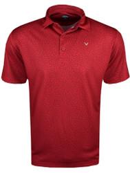 Callaway Golf All-Over Flag Print Polo