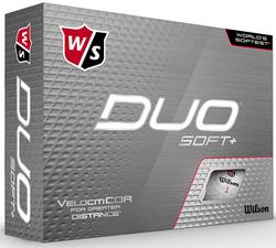 Wilson Staff Duo Soft+ Golf Balls Plus 2 Ball Pack