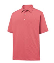 FootJoy Golf- Stretch Lisle Dot Print Polo