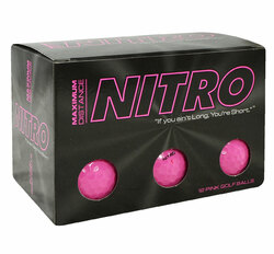 Nitro Ladies Max Distance Golf Balls LOGO ONLY