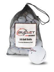 Bullet .444 Distance Golf Balls [30-Ball] LOGO ONLY