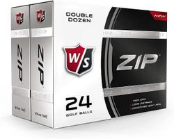 Wilson Staff Zip Golf Balls [24-Ball]
