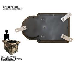 Club Clean Golf- 3 Piece Fender Bracket