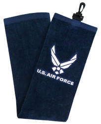 Hot-Z Golf Military Tri Fold Towel US Air Force