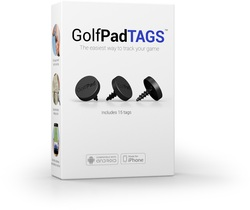 Golf Pad- GPS Tracking Tags