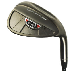 Solus Golf- Black Nickel Wedge