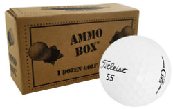 Titleist Gran Z Overrun Golf Balls *12-Ball Ammo Box*