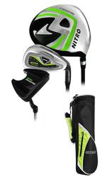 Nitro Golf- Junior Crossfire 6 Piece Complete Set With Bag