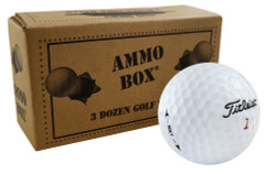 Titleist NXT Tour Mint Used Golf Balls *36-Ball Ammo Box*